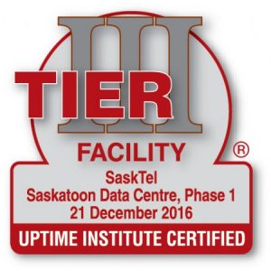 Sasktel Tier III Data Center Certification
